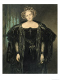 Henriette Sonntag in the Role of 'Donna Anna' from the Opera 'Don Giovanni' by Mozart, Giclee Print