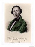 Hans Christian Andersen, Giclee Print, Moller