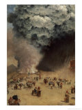 The Rain of Ashes, 1872, Giuseppe De Nittis, Giclee Print