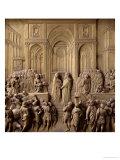 Queen of Sheba and King Solomon Meeting, Giclee Print, Lorenzo Ghiberti
