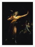 Lady Macbeth Sleepwalking, 1783, Giclee Print