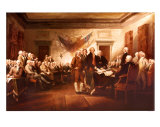 John Trumbull - Declaration of Independence Art Print