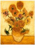 Vincent van Gogh - Sunflowers, 1888 poster