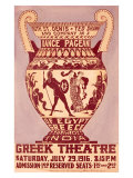 Ruth St. Denis, Dance Pageant, Greek Theatre, Giclee Print