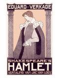 Shakespheare's Hamlet, Giclee Print