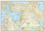Lands of the Bible, Art Print