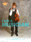 I AM A MUSICIAN, Poster