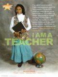 I AM A TEACHER, poster