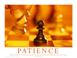 Patience Motivational Poster