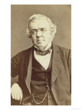 Portrait William Makepeace Thackeray, Giclee Print