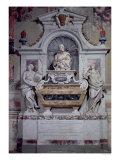 Monument to Galileo Galilei and His Pupil Vincenzo Viviani, Set up by G.B. Foggini in 1737, Giclee Print