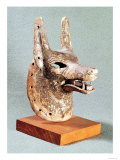 Head of Anubis, with a Hinged Jaw, Used as an Oracle Mask, New Kingdom, Giclee Print