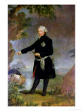 Portrait of Frederick II the Great, 1772, Giclee Print