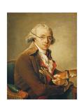 Adélaïde Labille-Guiard - Portrait of Francois-Andre Vincent, Giclee Print