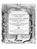 Frontispiece to Apologia Pro Galileo, Giclee Print