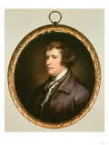 Miniature of Edmund Burke, Giclee Print