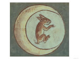 The Rabbit in the Moon from a History of the Aztecs and the Conquest of Mexico, Spanish