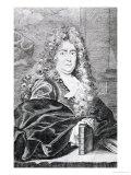 Portrait of Charles Perrault, Giclee Print