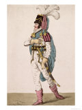 "Mr. Braham in the Character of Orlando from Shakespeare's ""As You Like It"", Pub. 1802 , Giclee Print"