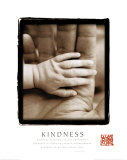 Kindness - Hands Poster
