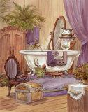 Victorian Bathroom I Posters by Jerianne Van Dijk
