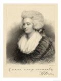 Hannah More, English religious writer & philanthropist, Giclee Print