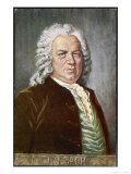 Johann Sebastian Bach German Organist and Composer, Giclee Print