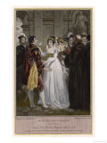 Much Ado About Nothing, Antonio, Hero and Beatrice, Act III, Scene 4, Giclee Print