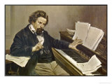 "Amilcare Ponchielli the Italian Opera Composer Best Known for ""La Gioconda"" of 1876, Giclee Print"