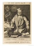 Christoph Clavius Bavarian Astronomer and Mathematician, Giclee Print