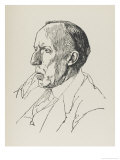 Cecil James Sharp, Musician and Author Especially Associated with Folk Songs and Dances, Giclee Print