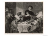 Taming of the Shrew, Act IV Scene I: Petruchio Insists That the Food Isn't Good Enough, Giclee Print