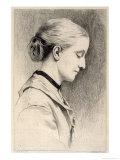 Juliana Horatia Ewing, Writer, Giclee Print