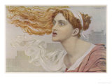 Daughter of King Priam of Troy She was an Infallible Prophetess, Giclee Print