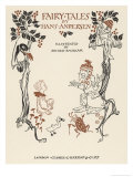 Arthur Rackham's Title Page to an Illustrated Edition of Andersen's Fairy Tales, Giclee Print