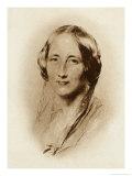Elizabeth Cleghorn Gaskell, Writer, in 1851, Giclee Print