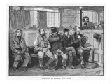 Four of the Six Tolpuddle Martyrs Transported to Australia for Forming a Trade Union, Giclee Print