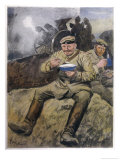 War or No War, the German Troops at the Front are Eating Well!, Giclee Print