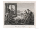 Aeneas Fleeing from Troy Dallies with the Queen of Carthage Who is Only Too Happy to Dally Back, Giclee Print