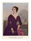 Lola Montez, American Dancer and Adventuress Born in Ireland, Giclee Print