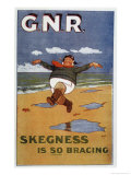 By Rail to Skegness, Giclee Print