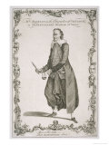 Charles Macklin Actor in the Role of Shylock in the Merchant of Venice, Giclee Print