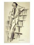 Aldous Leonard Huxley British Writer, Giclee Print