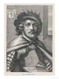 Jean de Bethencourt French Navigator Conqueror of the Canary Islands, Giclee Print
