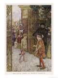 """Tom Enters the Palace: """"The Little Prince of Poverty Passed In."""", Giclee Print"""