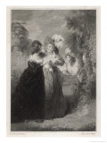 Much Ado About Nothing, Act III Scene I: Beatrice Listens to the Secret Plotting, Giclee Print