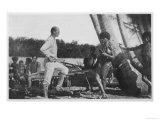 Bronislaw Malinowski, Polish-Born British Anthropologist in the Trobriand Islands 1914-18, Giclee Print