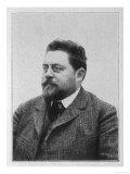 Gaston Leroux, French Novelist, Giclee Print