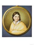 Bettina von Arnim, German Writer, Giclee Print