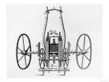 Jethro Tull's Wheat Drill, Giclee Print